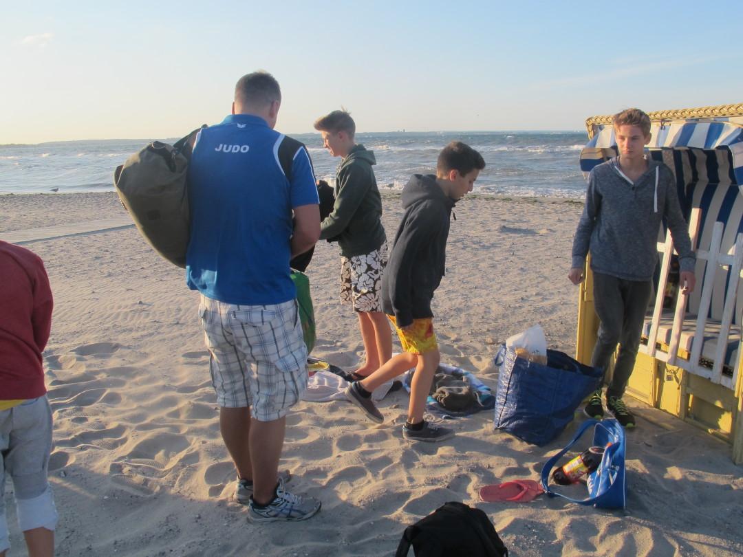 Picknick an der Ostsee