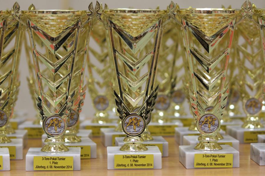 Jüterbog 2014 3 Tore Pokal