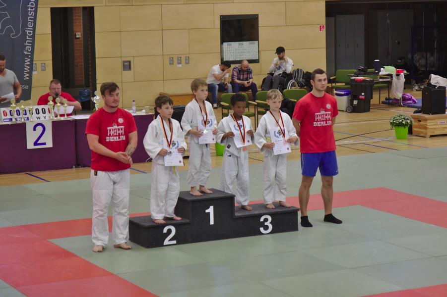 Judowettkampf Karow 15.07.2017
