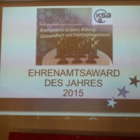 Ehrenamtsaward 2015